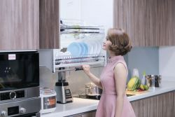 Phụ kiện tủ bếp inox - EU.I160 - phụ kiện tủ bếp Eurogold