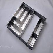 Khay chia inox tủ bếp - E0645E