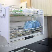 Phụ kiện tủ bếp thông minh - Khay chén Eurogold