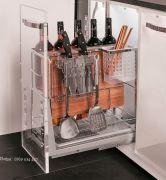 Kệ gia vị inox E.P30 - Phụ kiện tủ bếp EUROGOLD