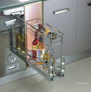Kệ gia vị inox eurogold EP.20B - Phụ kiện tủ bếp EUROGOLD