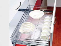 Giá xoong nồi inox EC.8180 - phụ kiên tủ bếp