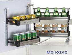 Kệ  tủ đồ khô 2 tâng M040245 - Phụ kiện tủ bếp