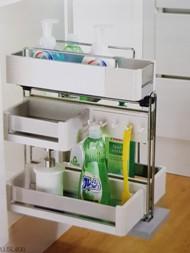 Kệ đựng chai lọ tẩy rửa EUSL400 - Phụ kiện tủ bếp EUROGOLD