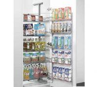 Kệ inox tủ đồ khô 4 tầng Eurogold - EG.80445S