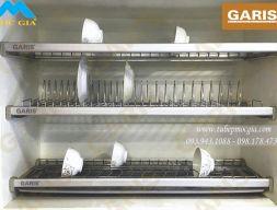 Kệ chén dĩa cố định 3 tầng Garis GB07E