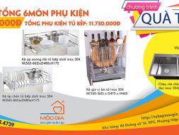 Combo phụ kiện thiết bị tủ bếp - Combo 10