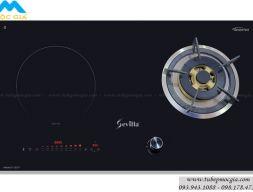 Bếp gas kết hợp từ Sevilla Bếp gas kết hợp bếp từ SV-02GT