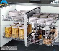 Kệ góc tủ bếp Higold 101101 inox 304