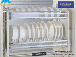 Kệ chén dĩa di động Eurogold inox 304 EVI160