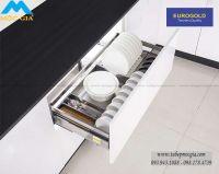 Khay úp chén dĩa inox hộp Eurogold EU132600