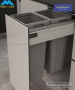 Thùng rác âm ray hộp cao cấp Eurogold BA400