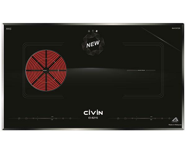 Bếp Kết Hợp 1 Từ 1 Hồng Ngoại Civin EI-6215