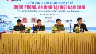 200 doanh nghiệp tham gia triển lãm quốc tế về quốc phòng và an ninh