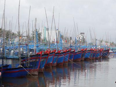Sinh kế sau bão lũ: Những làng biển chưa nguôi thao thức