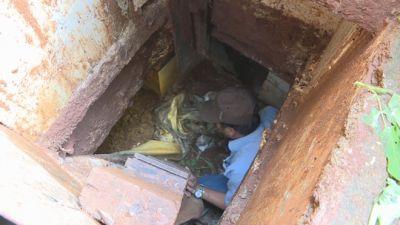 Tên trộm liên tỉnh nhiều tiền án đào hầm trú ẩn trong nhà