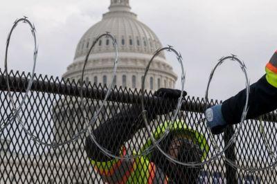 An ninh thắt chặt chưa từng có tại thủ đô nước Mỹ