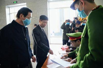 Lại hoãn phiên toà xét xử ông Vũ Huy Hoàng