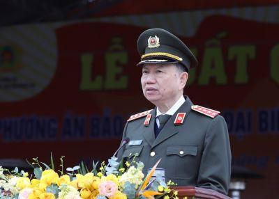 Lực lượng CAND quyết tâm bảo đảm tuyệt đối an ninh, an toàn Đại hội XIII của Đảng