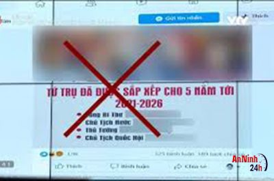 Cục an ninh mạng:  Hãy cảnh giác với thủ đoạn phát tán thông tin xấu độc dịp Đại hội XIII