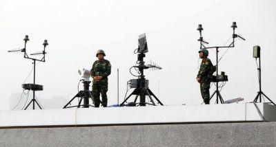 Một số hình ảnh:  Kiểm soát an ninh đặc biệt vòng ngoài bảo vệ an toàn Đại hội Đảng.