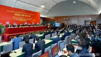 Tổng Bí thư, Chủ tịch nước Nguyễn Phú Trọng chủ trì họp báo về kết quả Đại hội XIII
