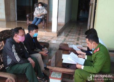 Nữ công nhân từ Hải Dương về Nghệ An khai báo y tế gian dối để trốn cách ly