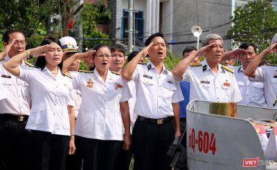Ảnh: Xúc động lễ tưởng niệm 64 liệt sĩ Gạc Ma ở Đà Nẵng