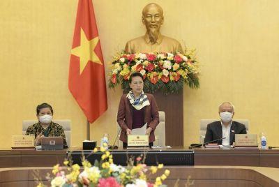 Ủy ban Thường vụ Quốc hội cho ý kiến về công tác nhân sự để trình Quốc hội