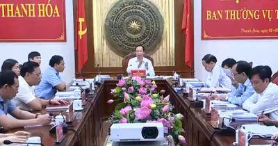 Kỷ luật 3 cán bộ, đảng viên thuộc diện Ban Thường vụ Tỉnh ủy Thanh Hóa quản lý