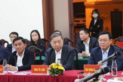 100% cử tri nơi cư trú tín nhiệm giới thiệu Bộ trưởng Tô Lâm ứng cử ĐBQH khóa XV