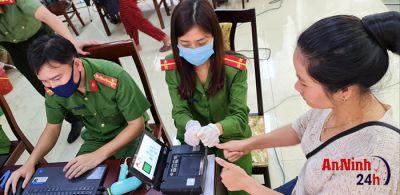 Nghệ An: Nổ lực ngày đêm, đảm bảo tiến độ cấp căn cước công dân trên toàn tỉnh.
