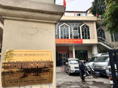 Hà Nội: Gần 20 người xông vào Cục Thi hành án đập phá tài sản, hành hung cán bộ