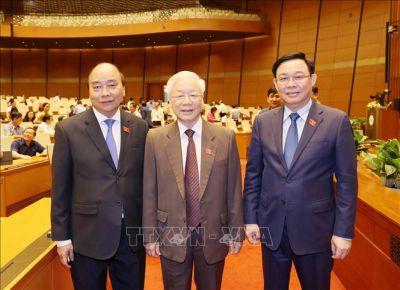 Hôm nay, Quốc hội tiến hành miễn nhiệm Chủ tịch nước, Thủ tướng Chinh phủ