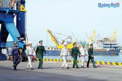 Quảng Ngãi: Đảm bảo an ninh cưả khẩu cảng phục vụ cho mục tiêu phát triển kinh tế