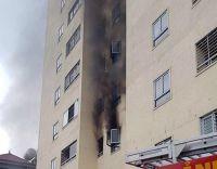 Nghệ An: Cháy ở chung cư 20 tầng TP Vinh