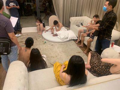 Nghệ An: Bắt nhóm thanh niên tổ chức tiệc ma túy trong khu nghỉ dưỡng Cửa Hội
