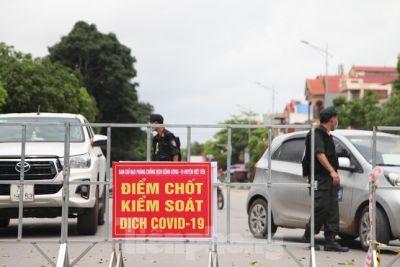 F0 ra vào vùng cách ly xã hội, một Bí thư Đảng ủy xã ở Bắc Giang bị tạm đình chỉ công tác
