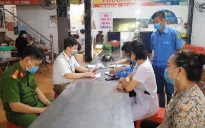 Quán ăn đầu tiên của TP Vinh bị xử phạt vì không thực hiện nghiêm Công văn số 3660/UBND-VX của UBND tỉnh Nghệ An