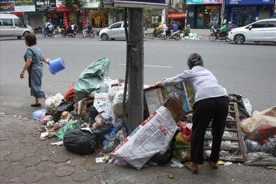 Những bãi rác thải gây mất vệ sinh môi trường
