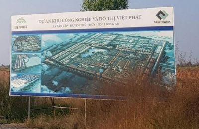 Tân Thành Long An huy động 5.000 tỷ đồng trái phiếu đầu tư khu công nghiệp 1.200ha