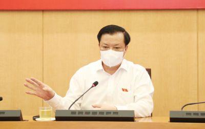 Bí thư Thành ủy Hà Nội Đinh Tiến Dũng: Lấy hiệu quả thực hiện Chỉ thị 17/CT-UBND làm ''thước đo'' trách nhiệm người đứng đầu