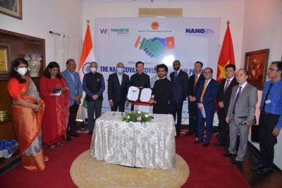 """Nanogen """"bắt tay"""" doanh nghiệp dược Ấn Độ sản xuất, phân phối Nanocovax"""