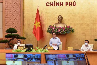 Thủ tướng chỉ đạo phòng chống dịch COVID-19