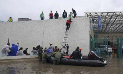 Bệnh viện chìm trong nước lũ ở Mexico, nhiều bệnh nhân COVID-19 thiệt mạng