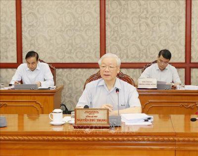 Tổng Bí thư Nguyễn Phú Trọng: Phòng, chống tham nhũng phải gắn liền, đồng bộ với phòng, chống tiêu cực