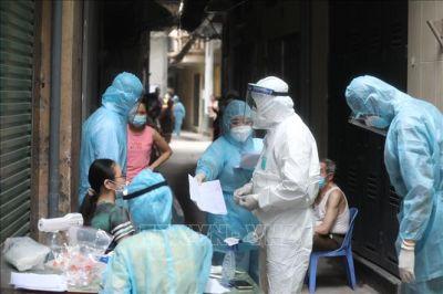Hà Nội: Phong tỏa khu dân cư 1.300 nhân khẩu ở phường Thổ Quan
