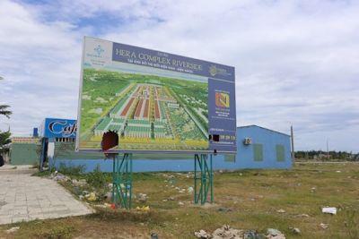Quảng Nam: Xem xét thu hồi 4 dự án khu đô thị đã phê duyệt
