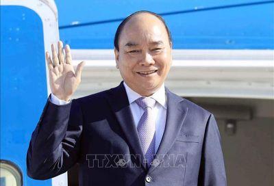 Chủ tịch nước Nguyễn Xuân Phúc tới New York, bắt đầu chương trình tham dự Đại hội đồng Liên hợp quốc khóa 76