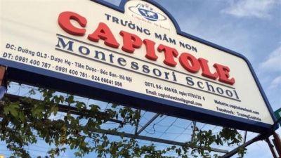 """Huyện Sóc Sơn chấn chỉnh nghiêm túc công tác dạy và học sau vụ """"vượt rào"""" của Trường liên cấp Capitole"""
